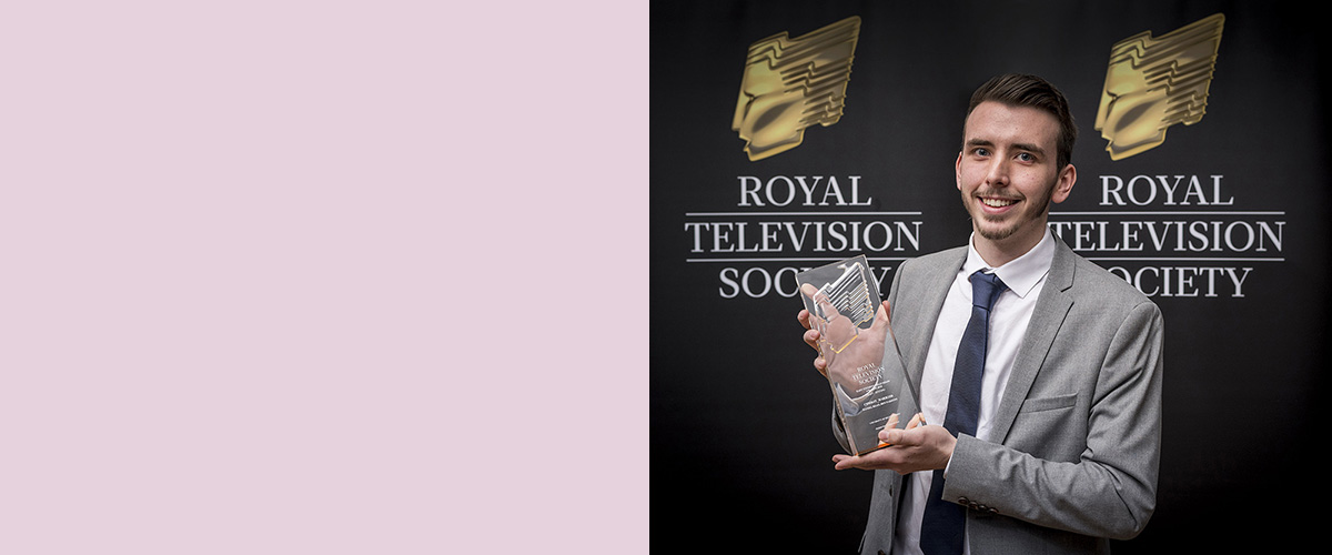 Bedfordshire pair scoop Royal Television Society's East Student Award