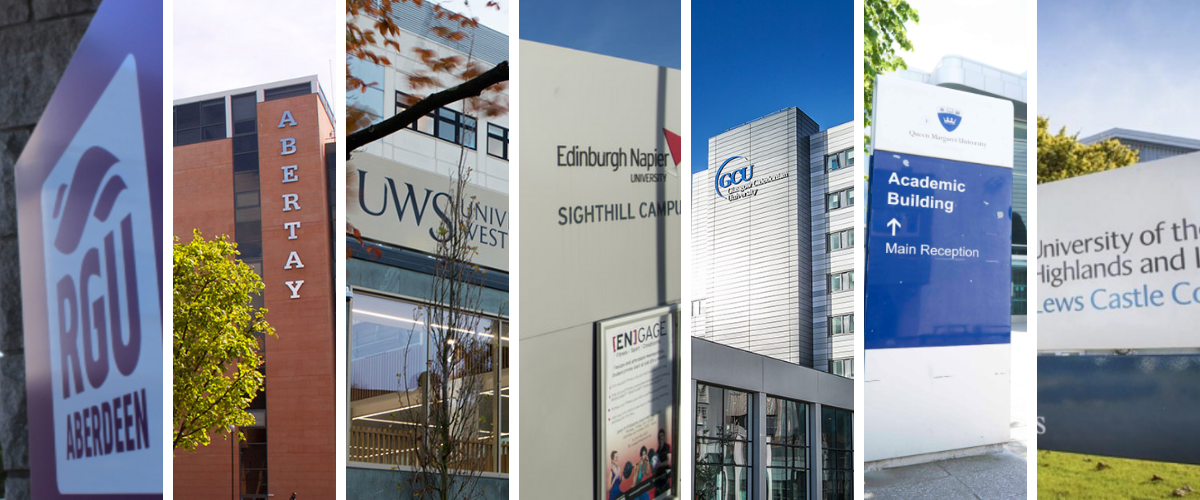 Facts and stats: modern universities in Scotland